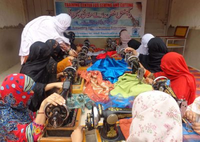 P 2 (Vocational Tailoring Female Training)