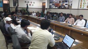 Training PDMA staff on NOC, Progress Monitoring Modules and M&E