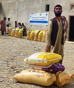 Reducing Adverse Affects of Disasters on the Lives and Livelihoods of the Vulnerable Population of District Pishin at Balochistan Province
