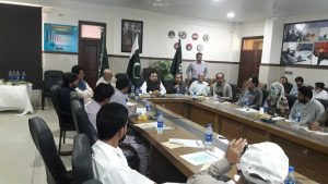 consultative workshop getting inputs on M&E Manual
